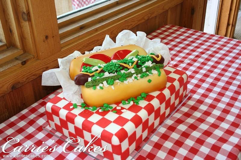 Хот дог Чикаго / Чикагский хот-дог