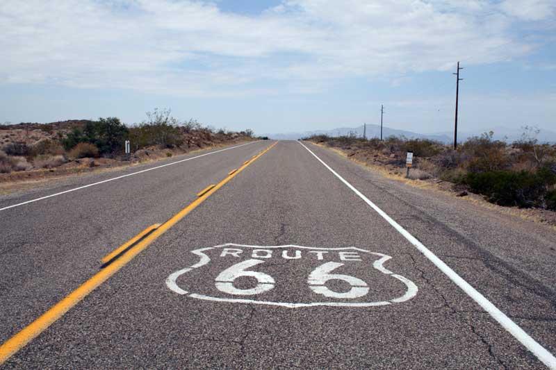 Трасса 66  / US 66 или Route 66