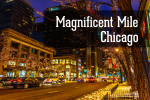 Видео / Magnificent Mile, Chicago. Прогулка по Великолепной Миле Чикаго.
