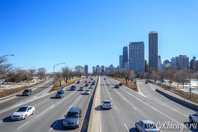 Общественный транспорт Чикаго / Метро, автобус, билеты.