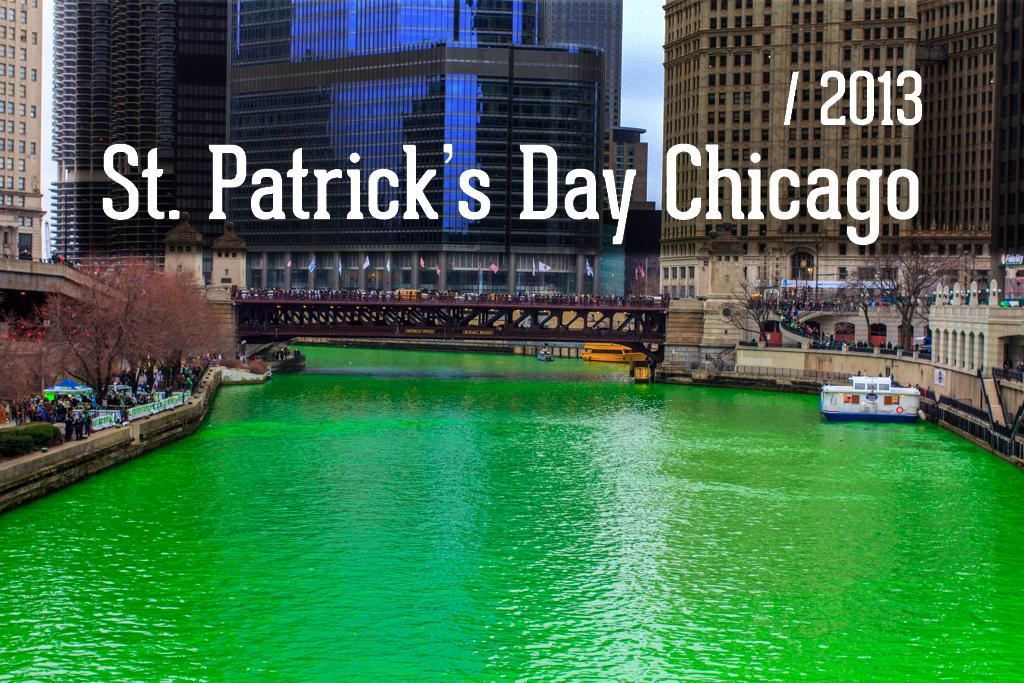 День Святого Патрика в ЧикагоДень Святого Патрика в Чикаго