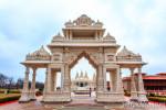 Индийский храм в Чикаго / BAPS Shri Swaminarayan Mandir