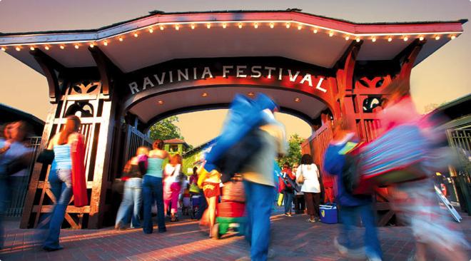 Равиния Фестиваль в Чикаго / Ravinia Festival