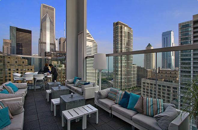 Бары на крыше в Чикаго / 10 лучших
