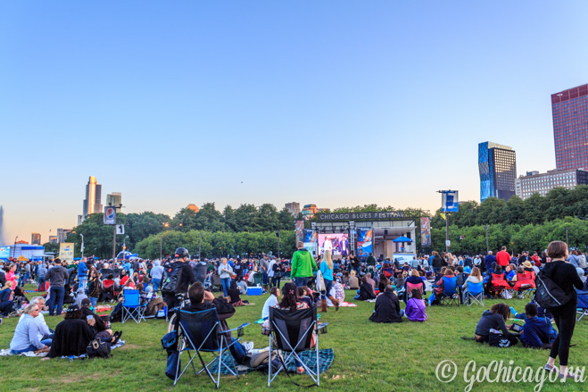 Фотографии / Фестиваль блюза в Чикаго 2013