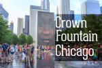 Видео / Краун Фонтан в Чикаго Миллениум парк