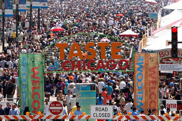Taste of Chicago стартует сегодня, в среду 10 июля!