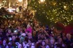 Ежегодная церемония зажжения главной елки в Чикаго