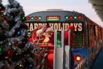 Рождественский поезд CTA в Чикаго