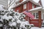 Снег в Чикаго 1- 2 января 2014 года. Фотографии