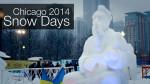 Snow Days 2014 на Военно-морском пирсе Чикаго