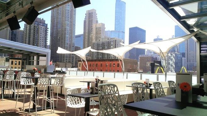 Новые заведения с патио в Чикаго летом 2014 года
