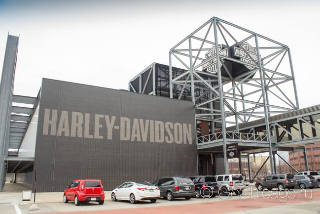 Музей Harley Davidson в Милуоки
