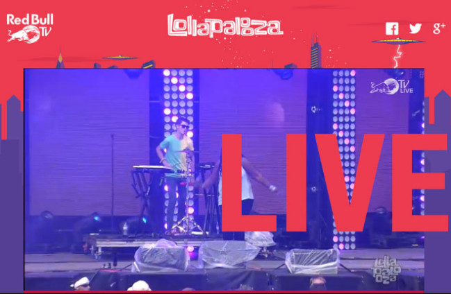 Фестиваль Lollapalooza   Прямая трансляция